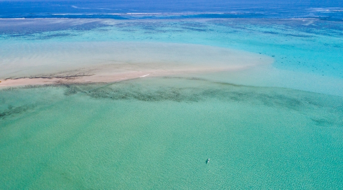 Kayaking in the Oru on Ningaloo Reef