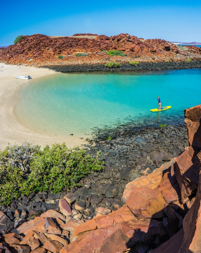 SUP at pristine Dampier Archipelago